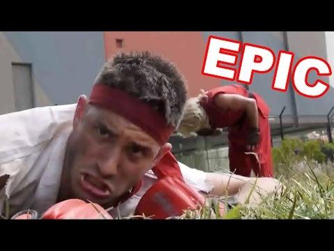 STREET FIGHTER EN LA VIDA REAL!! I Video Reacción I Escardi