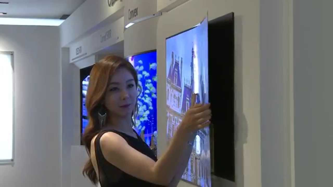 Lg S 1mm Oled Wallpaper Tv Youtube