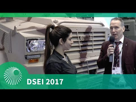 DSEI 2017: IAG unveils new RILA and Guardian Xtreme MRAP vehicles