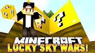 Lucky Block Sky Wars   QUE EZ!!