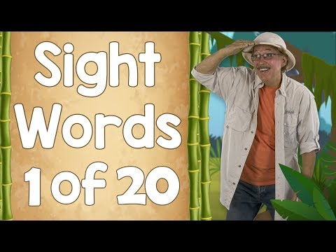 Sight Words | Ready to Read Sight Words | List 1 | Jack Hartmann