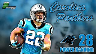 A Deep Dive Into The 2020 Carolina Panthers | Power Ranking: 28