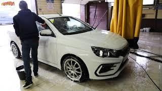 Подготовка автомобиля к полировке!