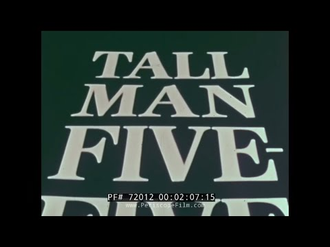 "STRATEGIC AIR COMMAND CONVAIR B-58 HUSTLER FILM ""TALL MAN FIVE FIVE"" 72012"