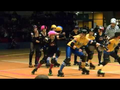 Roller derby stockholm stuttgart youtube for Roller in stuttgart