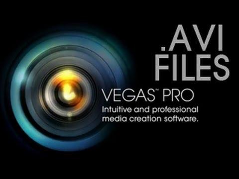 How To Import .AVI Files To Sony Vegas Pro 13 Fix