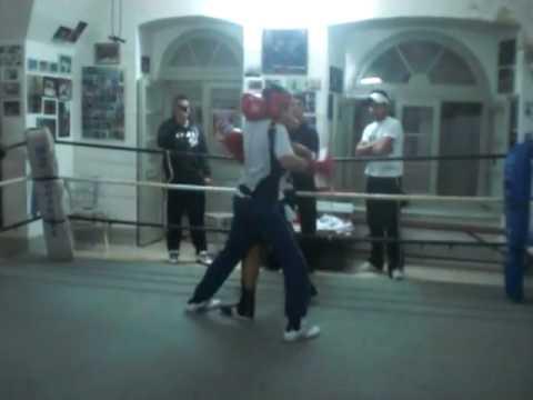 Darren'noni'Mercieca sparring (round 2)