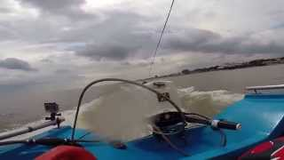 Cleethorpes wake surfing June 2014 HD