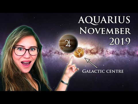 AQUARIUS November 2019. A BIG GIFT For You From The Most AUSPICIOUS & BLESSED Alignment This Year!