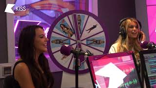Love Island's Hayley and Rosie talk Georgia kissing Jack and Couples at Risk 😮 | KISS BREAKFAST