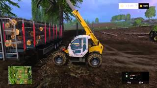 FARMING SIMULATOR 2015 XBOX ONE LOGGING/FORESTY PART 2