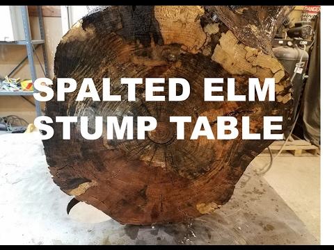 Custom Elm Stump Side Table   Four Fields Furniture   Minneapolis And St  Paul MN 55118