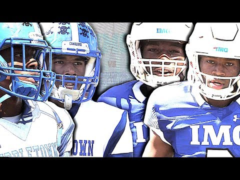 🔥🔥 IMG Football Academy vs The #1 Team in Delaware Middletown High | Action Packed Highlight Mix