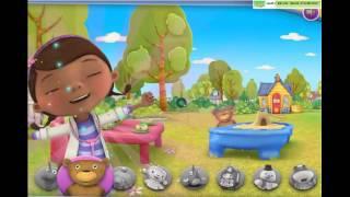 Доктор Плюшева все серии подряд игра как мультфильм для детей
