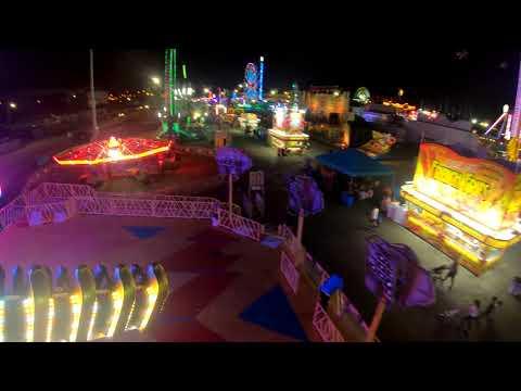 [4K] Space Roller Florida State Fair Tampa FL
