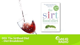 003: The Sirtfood Diet   Diet Breakdown | Nutri Iq Radio