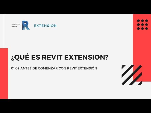 Revit Extensión | 01 02 ¿Qué es?