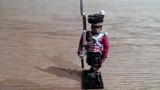 COLLECTABLE William Britains 79th Highlander TOY SOLDIER REVIEW