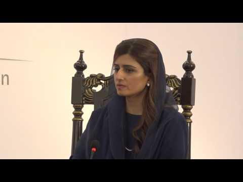 In Conversation with Hina Rabbani Khar, Topic: Towards Tomorrow.