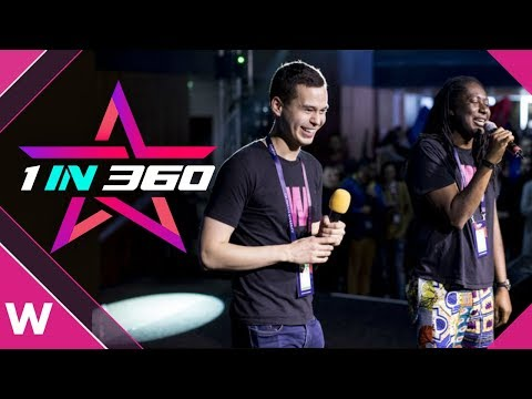 San Marino 1in360 wildcard: William & Deban need your votes for Eurovision