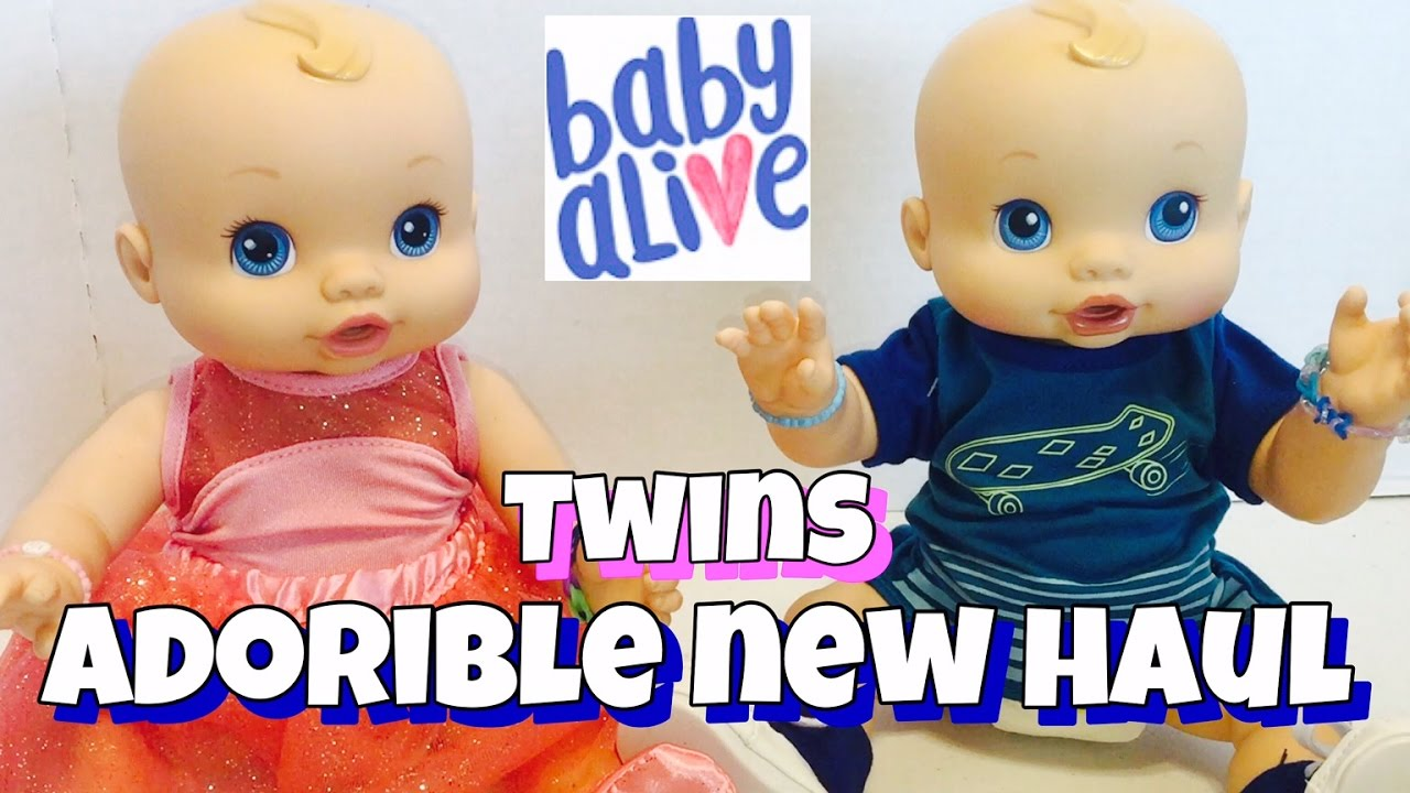Baby Alive Twins Haul From Walmart New My Life Clothes