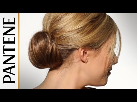Bun Hairstyles for Long Hair – How to Do a Low Fan Bun