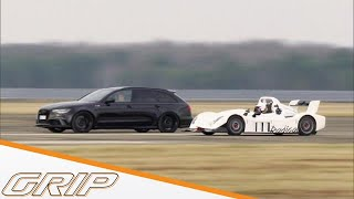 Getunter Audi RS 6 gegen alle | Audi RS6 RRahmani | GRIP