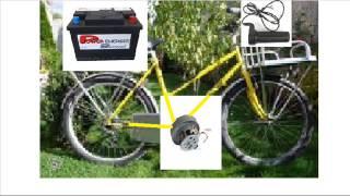 Vélo électrique moteur aspirateur