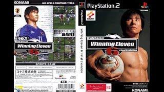 Winning Eleven 6 Japonês PLAYSTATION 2