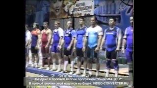 Чемпионат России по тяжелой атлетике 2006 (Федоров Денис МСМК)
