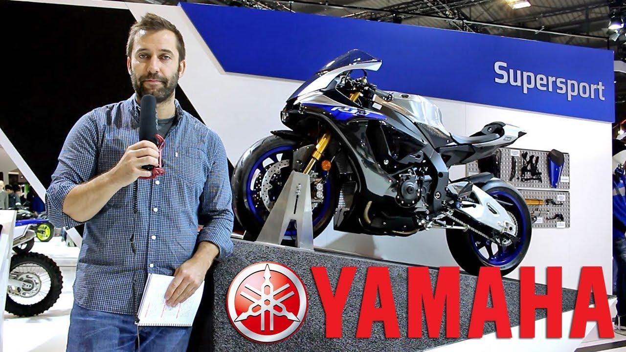 Yamaha 2018: Niken 3 ruedas / MT-07 / Tracer 900 y 900 GT /  R1M -R 1, Super Teneré Raid Edition...
