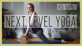 How to ⬆️ Advance Your 🧘 Yoga Practice   Beginner to Intermediate Level Yoga   YwM 563