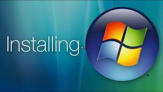Installing Windows Vista