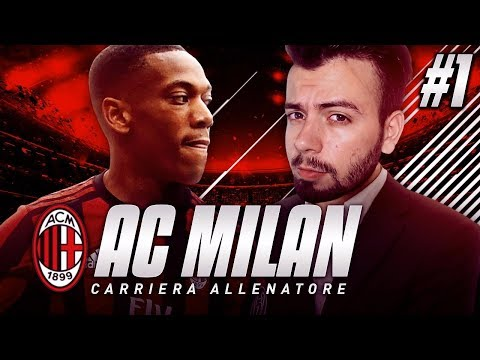 FIFA 18 CARRIERA ALLENATORE - ANTHONY MARTIAL AL MILAN? #1