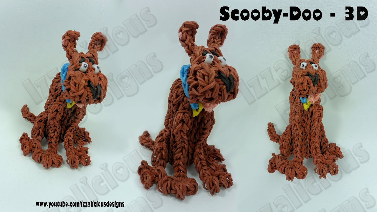 Rainbow Loom Scooby Doo Action Figure Charm Gomitas
