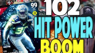 102 HIT POWER!! ULTIMATE MASTER UPDATE | MADDEN 16 ULTIMATE TEAM PACK OPENING