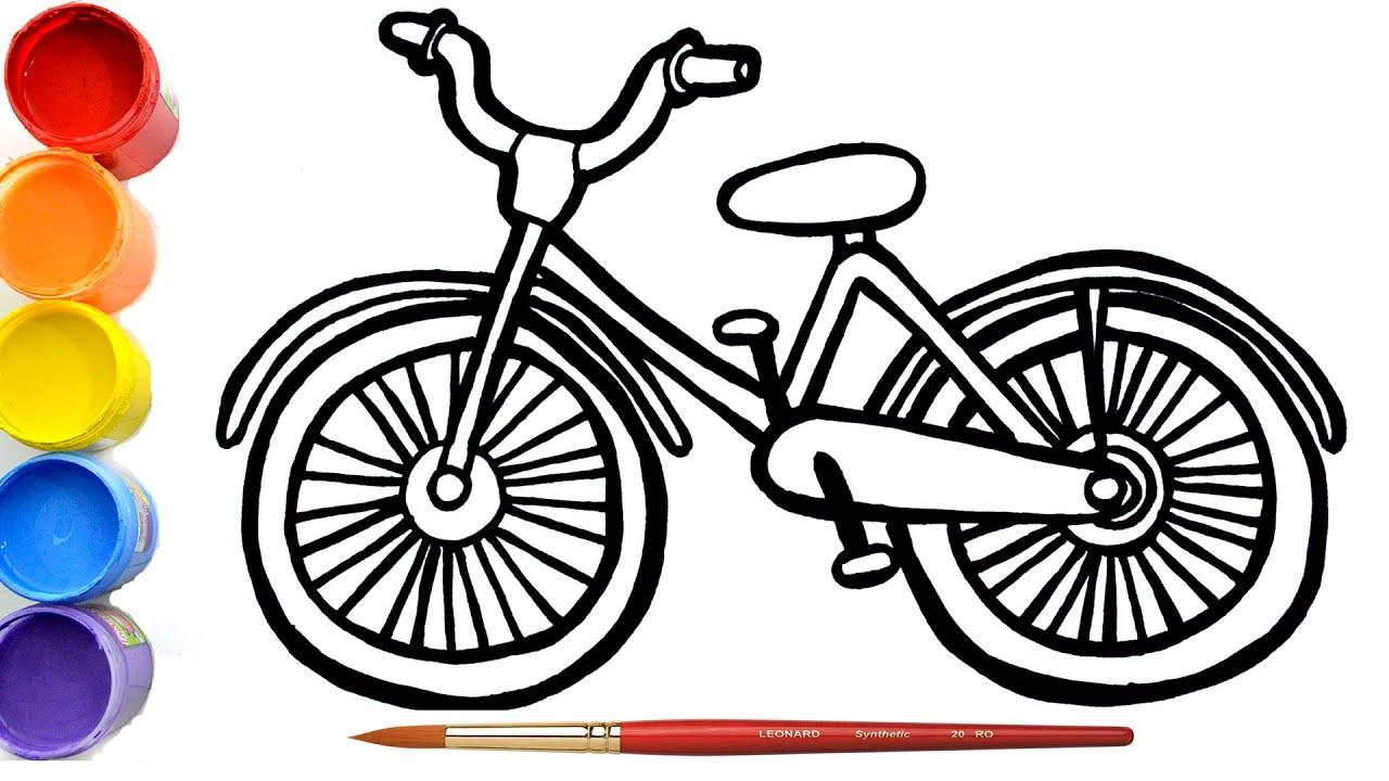 Cara Mewarnai Sepeda