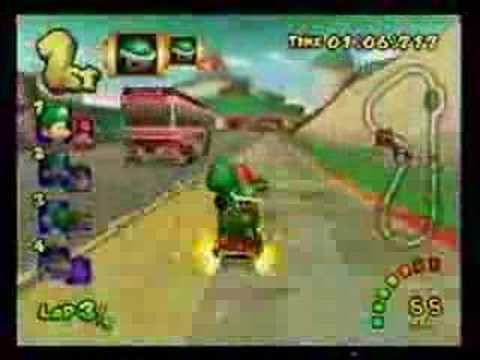 Mario Kart Double Dash - All Cup, 150cc - 29'07