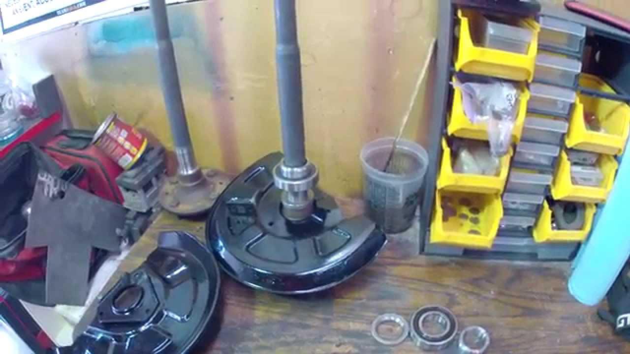 rear wheel bearing installation sa and fb mazda rx 7 [ 1280 x 720 Pixel ]