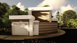 CASA DE ESQUINA EM MEIO LOTE 🏡🏡   95,43 m² construídos.