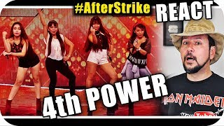 4th POWER 4th IMPACT - Marcio Guerra Canto Reagindo Musica React