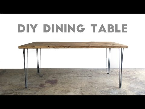 How To Build a Dining Table | Modern Builds | EP. 34