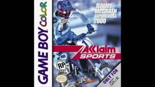 Jeremy McGrath Supercross 2000: Menu [Gameboy Color OST]