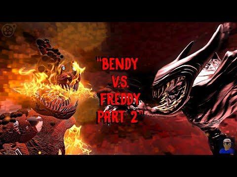 """BENDY VS FREDDY PART 2: Return Of The Demon"" | BATIM/FNAF SFM"