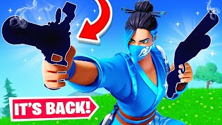 NEW *UNVAULTED* WEAPON UPDATE in FORTNITE! (Overpowered)
