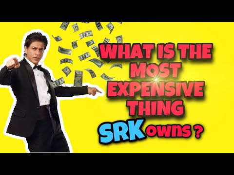 What is the most expensive thing Shah Rukh Khan owns ? | Rapid Fire | Zero movie