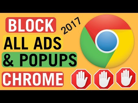Block All Ads And PopUps On Google Chrome