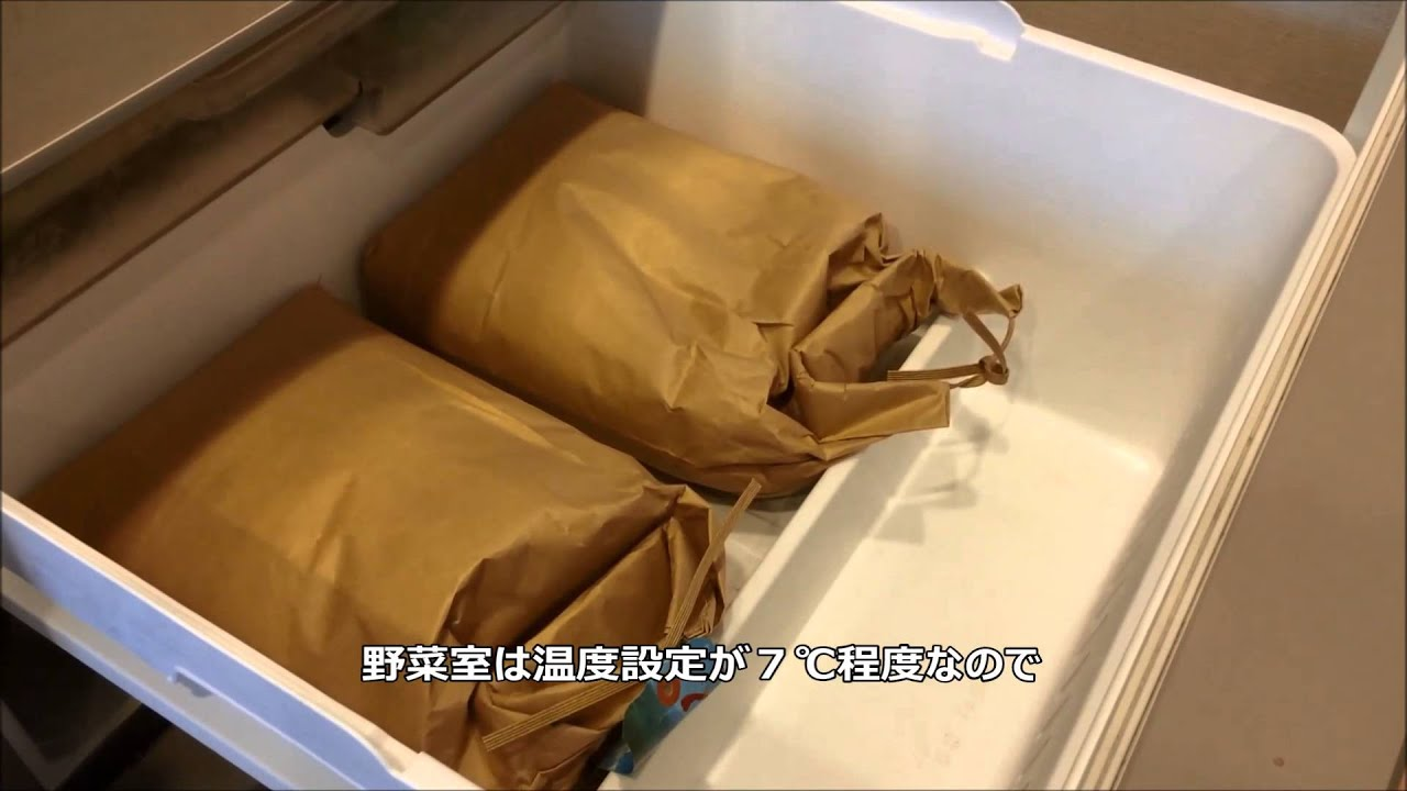 方法 保存 お 米