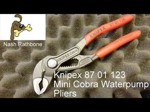 "Knipex 8701125 5/"" Cobra Pliers"