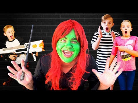 Kids Fun TV Escape The Babysitter Compilation Video! Babysitter Showdown! Escape the Room!
